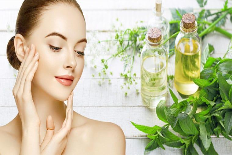 Tác dụng của tinh dầu bạc hà đối với làn da
