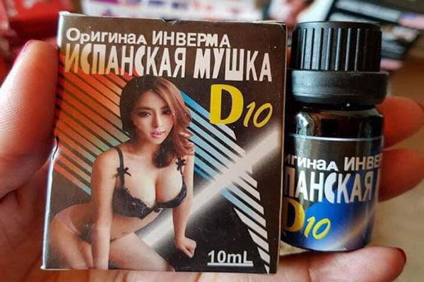 Mua thuốc kích dục nữ D10 ở đâu