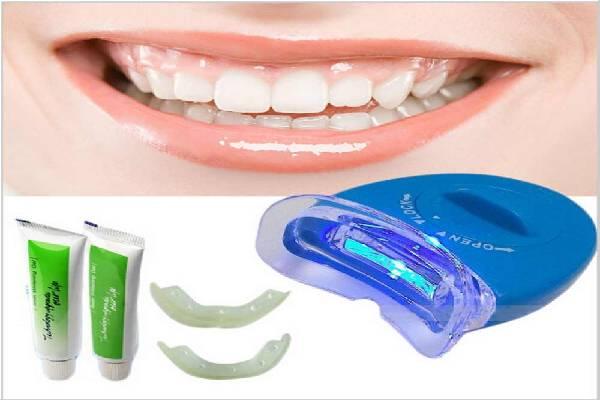 Bộ sản phẩm máy làm trắng răng