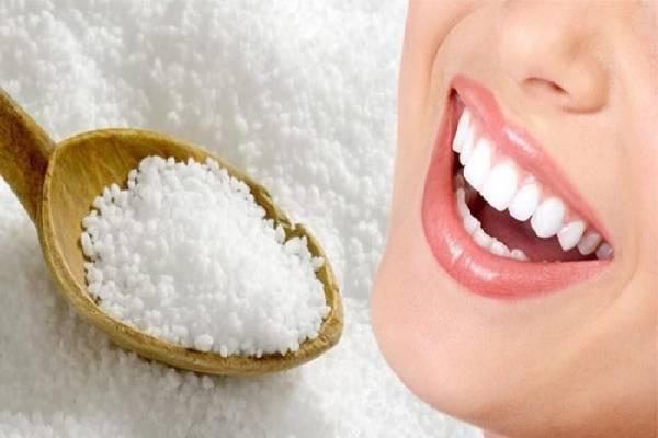 Muối có thể giúp răng bạn trắng sáng