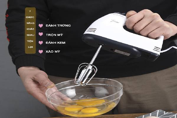 Chức năng của máy đánh trứng
