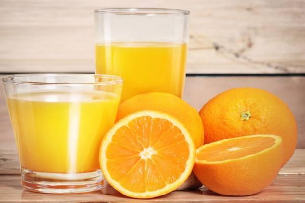 Nước cam giúp bổ sung canxi