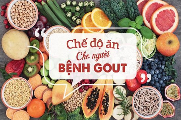 Cần tuân thủ chế độ ăn tuyệt đối với bệnh gout